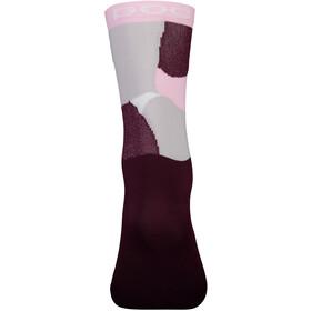 POC Essential Print Socks, color splashes multi propylene red